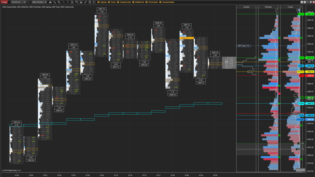 DeltaPrint© Suite for NinjaTrader 8 - AMS Trading Group LLC